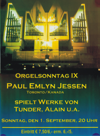 German Organ Tour 2002
